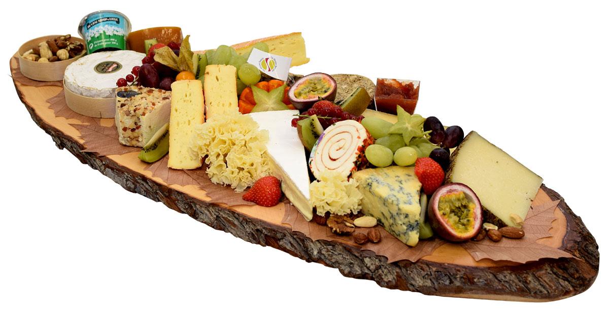 Planche de fromages 7 nations - De Kleine Bassin