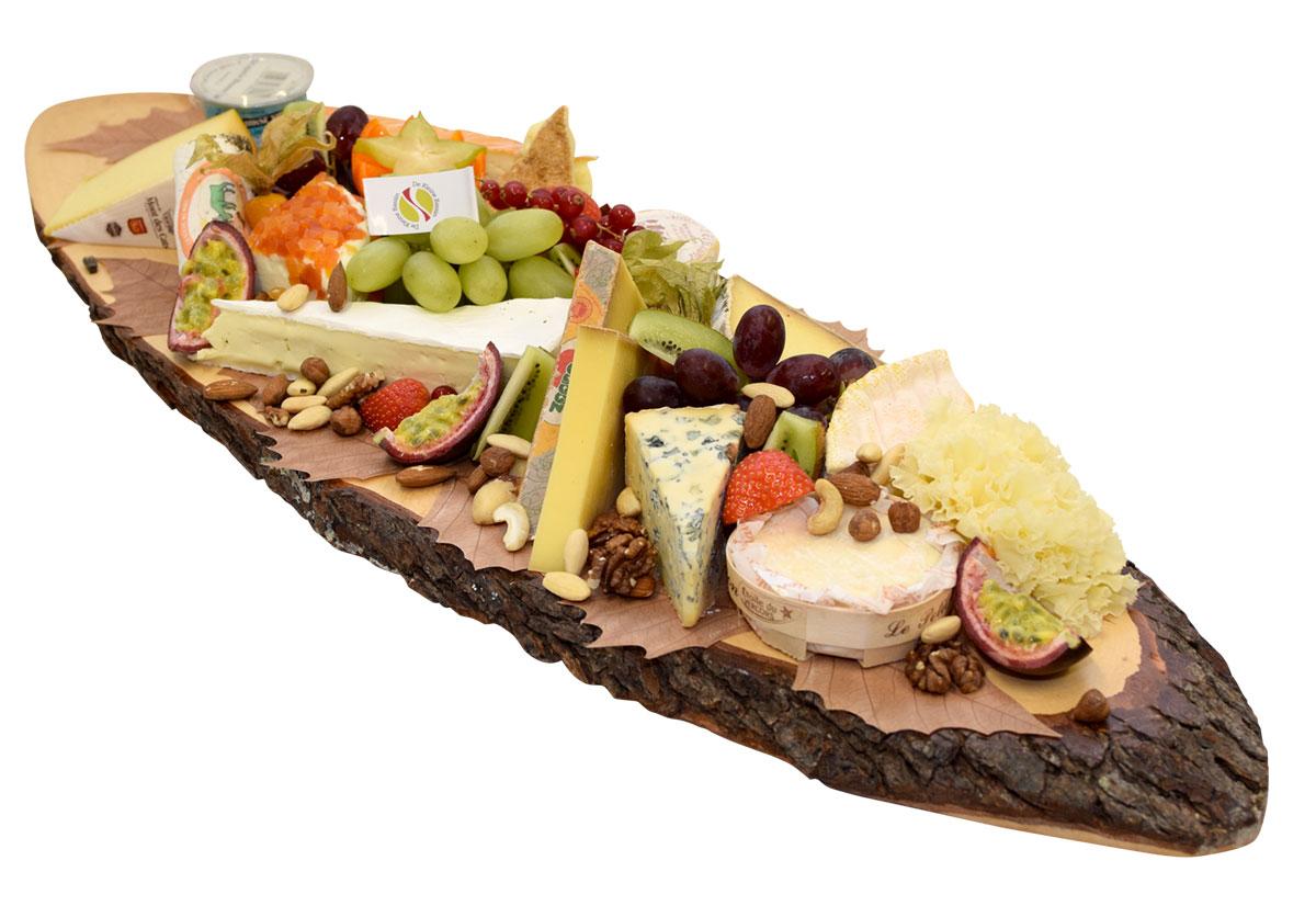 Planche de fromages à la française - De Kleine Bassin