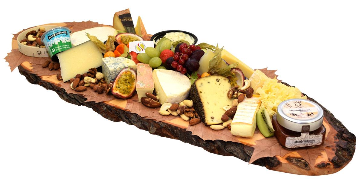 Planche de fromages à l'italienne - De kleine Bassin