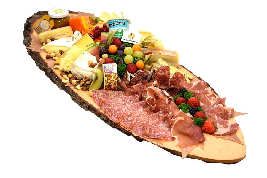 Planche de fromages De Kleine Bassin