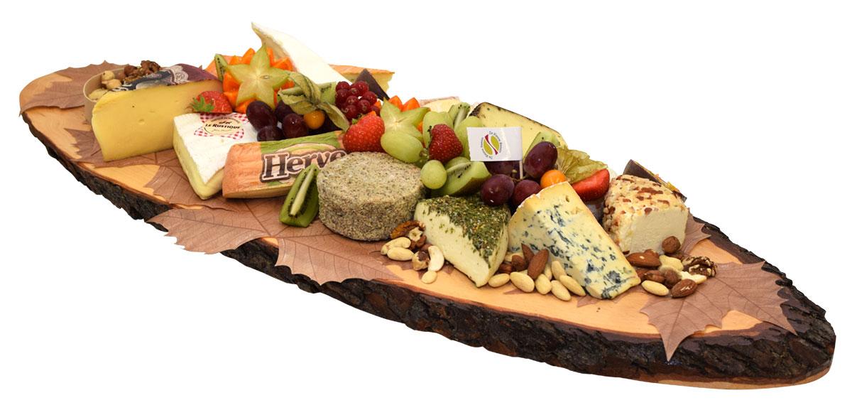 Planche de fromages de luxe - De Kleine Bassin
