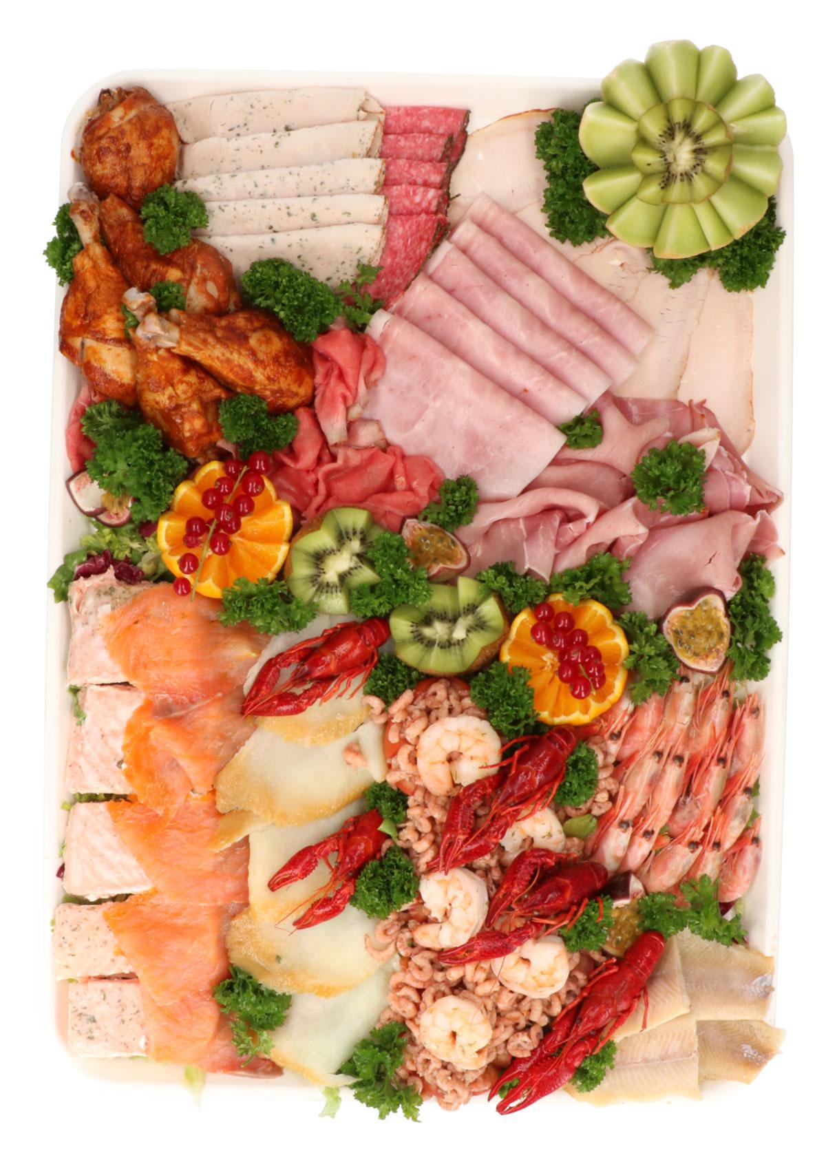 Buffet viande & poisson de luxe - De Kleine Bassin