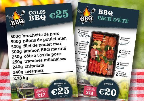 Colis barbecue - De Kleine Bassin