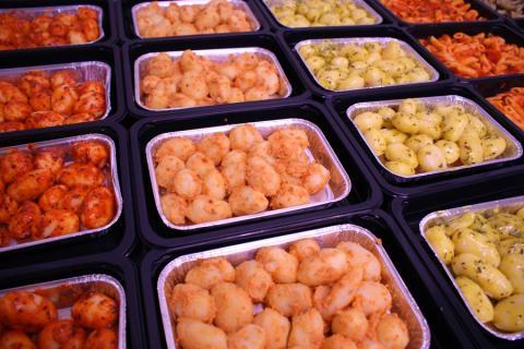 Pommes de terre  - De kleine Bassin
