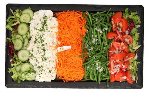 Plat de légumes 6 pers. - De kleine Bassin