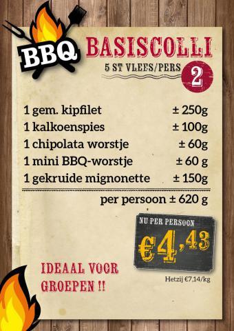 De Kleine Bassin - BBQ basiscolli 1