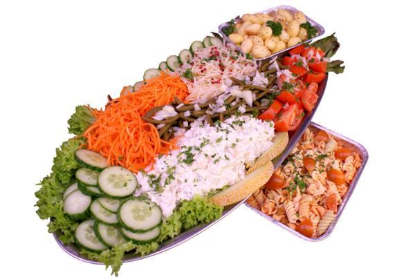 Plat de légumes de luxe - De kleine Bassin