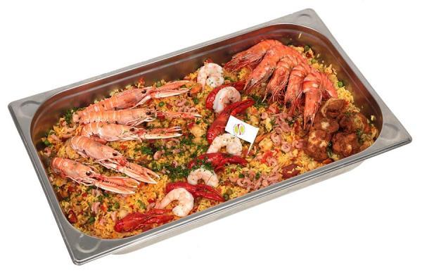Paella royale - De Kleine Bassin